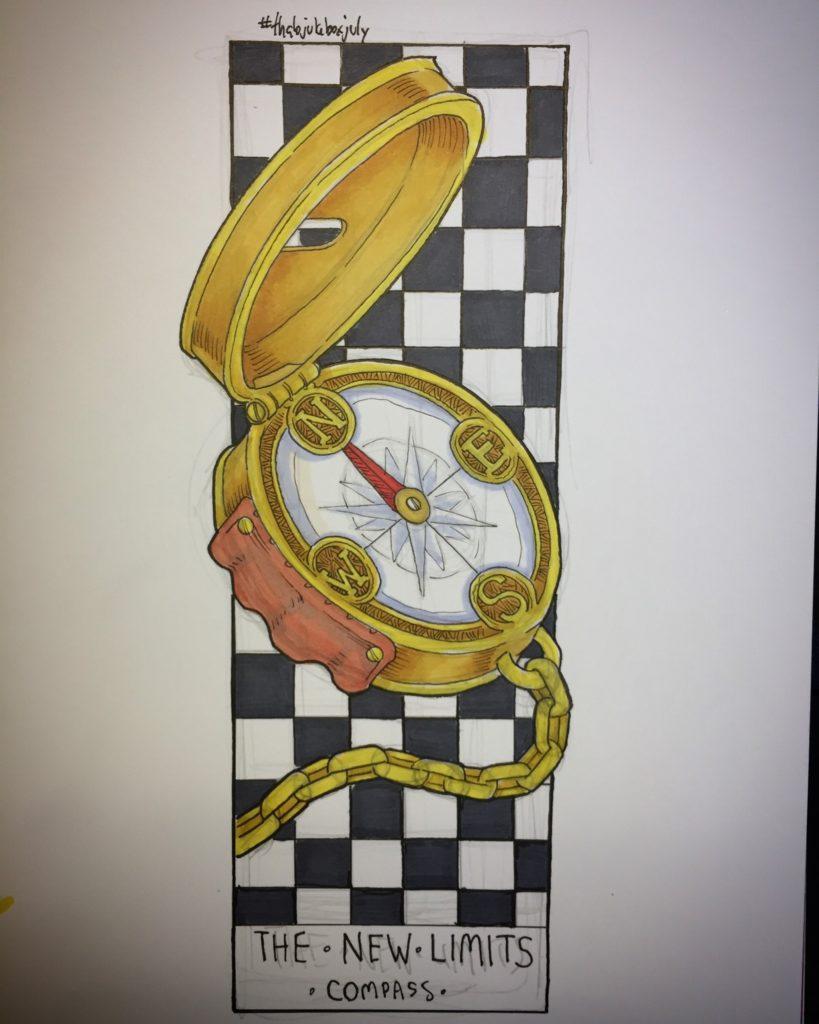 compass by brett kelley
